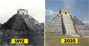 20 fotos de lugares históricos que muestran cómo cambiaron en 100 años