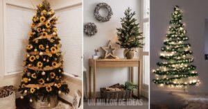 Decoraciones en tendencia para tu arbolito de navidad