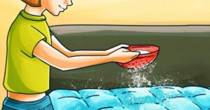 Derrama bicarbonato de sodio sobre tu colchón y mira lo que sucede