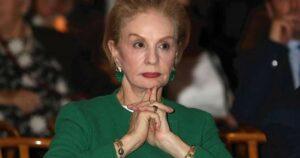 Carolina Herrera dice: Sólo mujeres sin clase llevan el pelo largo a los 40 años