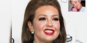 Thalia, en una cama de hospital y sin nada de maquillaje