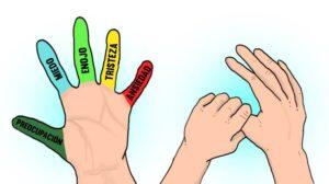 Técnica japonesa de los dedos para eliminar estrés